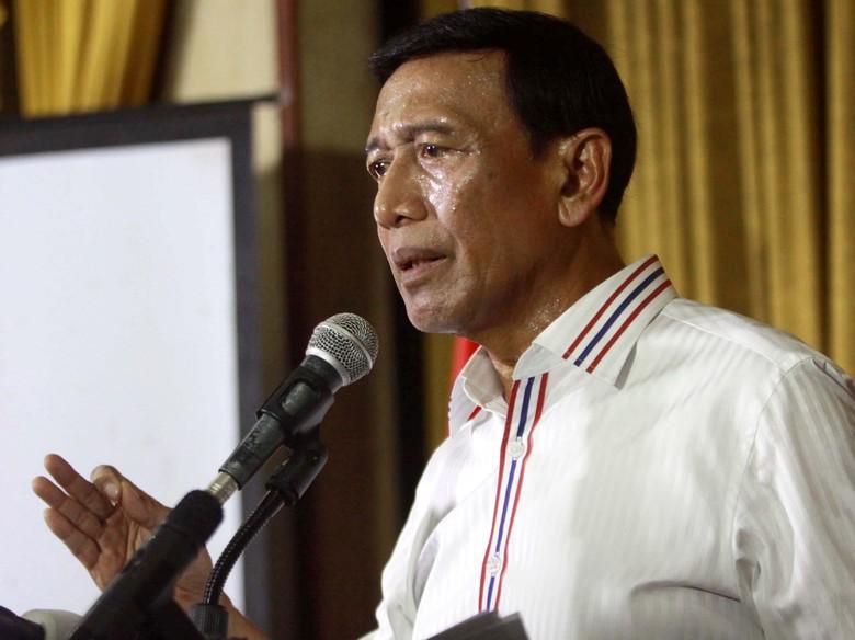 Wiranto Pesan Jaga Keamanan Tahun Politik ke Marsekal Hadi