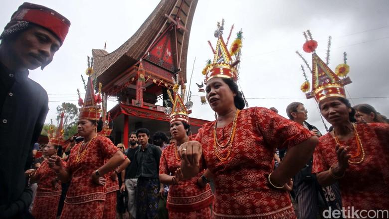 Ilustrasi Ritual Kematian di Toraja (Rachman Haryanto/detikTravel)