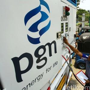 Saham PGN Meroket di Tengah Tumbangnya Saham Migas