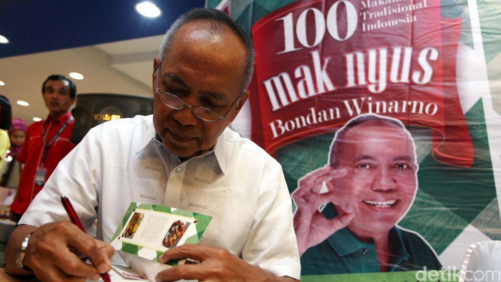 Sebelum Meninggal, Bondan Winarno Fokus Menulis Buku Kuliner