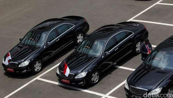 Mobil Kepresidenan Jokowi Mogok Saat Kunker di Kalbar