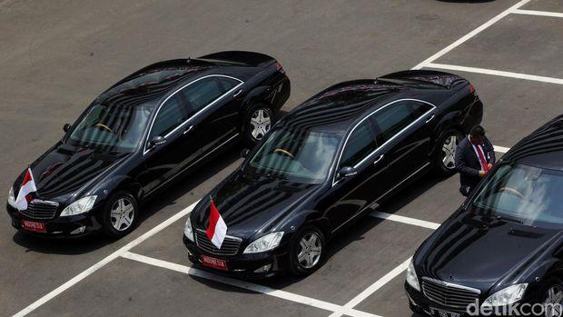 Mobil Presiden Jokowi