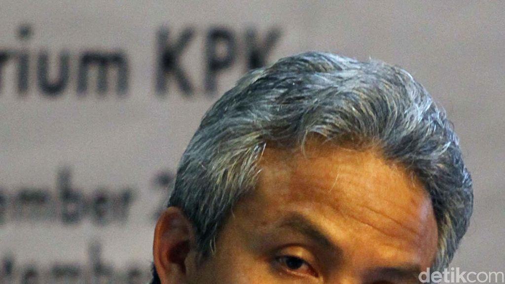 Kasus e-KTP, Ganjar Pranowo Sebut Kesaksian Nazaruddin Aneh