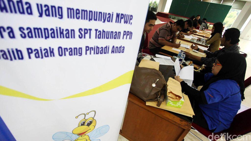 Pemerintah Bidik Setoran Pajak Rp 1.400 T di 2018