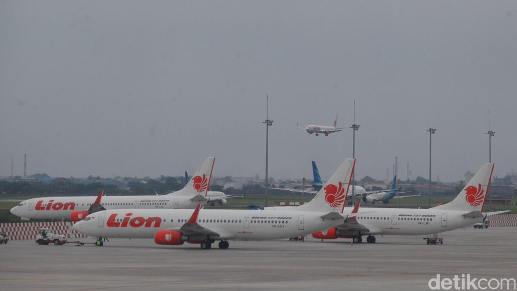 Cuaca Buruk, Penerbangan Lion Air Jakarta-Palembang Delay 7 Jam