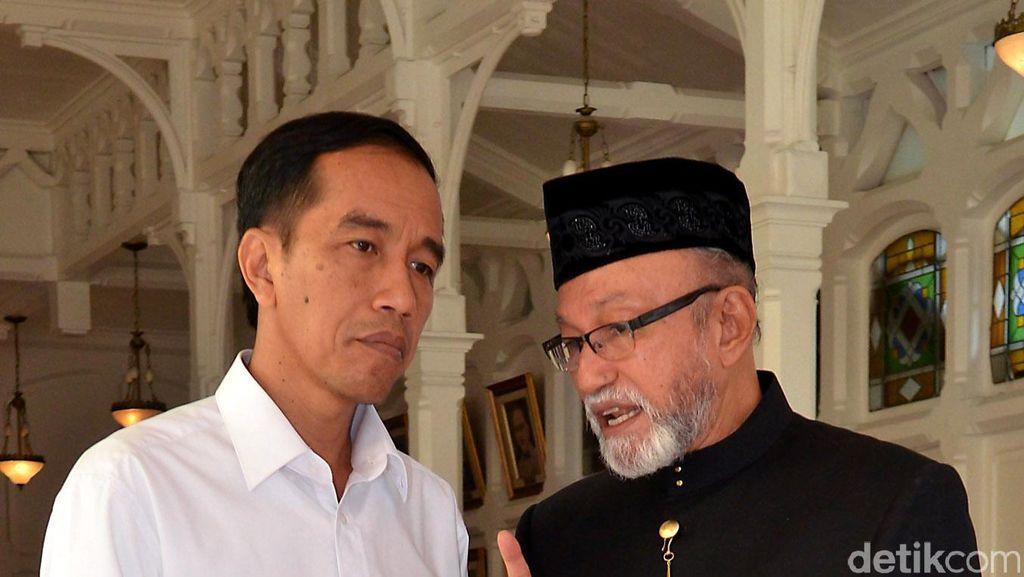 Lewat Video, Jokowi Laporkan Perkembangan Bendungan Keureuto di Aceh