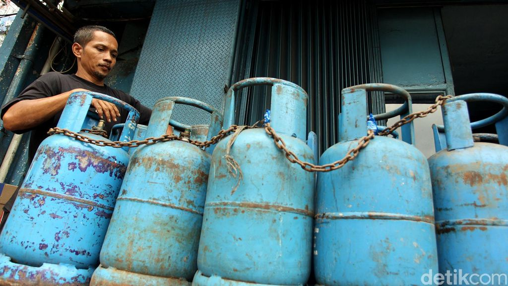 RI Butuh 7 Juta Ton LPG Tiap Tahun, 65% dari Impor