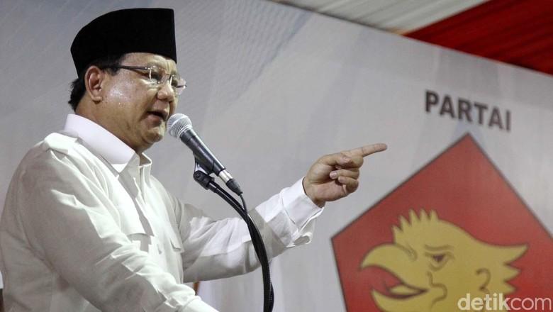 Maju Pilpres 2019? Prabowo: Kalau Rakyat Meminta