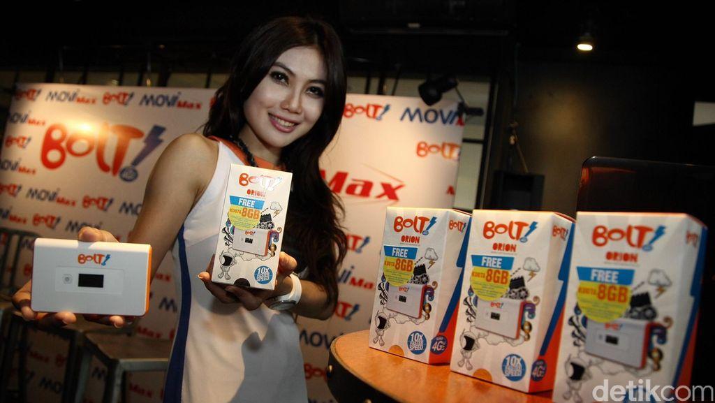 Jakarta Sedot 90% Porsi Internet 4G Bolt