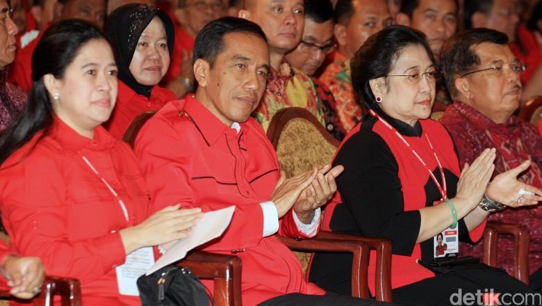 Presiden Jokowi dan Megawati akan Buka Rakornas Tiga Pilar PDIP