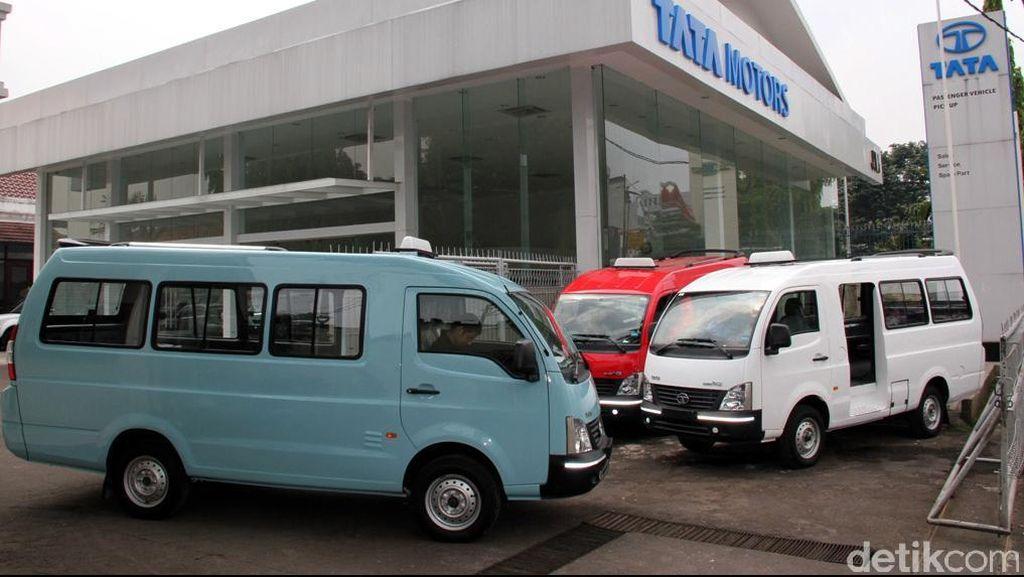 Kalah oleh Taksi Online, Tata Tetap Tawarkan Armada Angkot