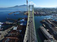 Dikebut Sejak 2014, Ini Capaian Pembangunan Infrastruktur Jokowi