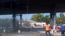 Kebakaran SPBU di Banda Aceh, Saat Warga Sedang Isi BBM