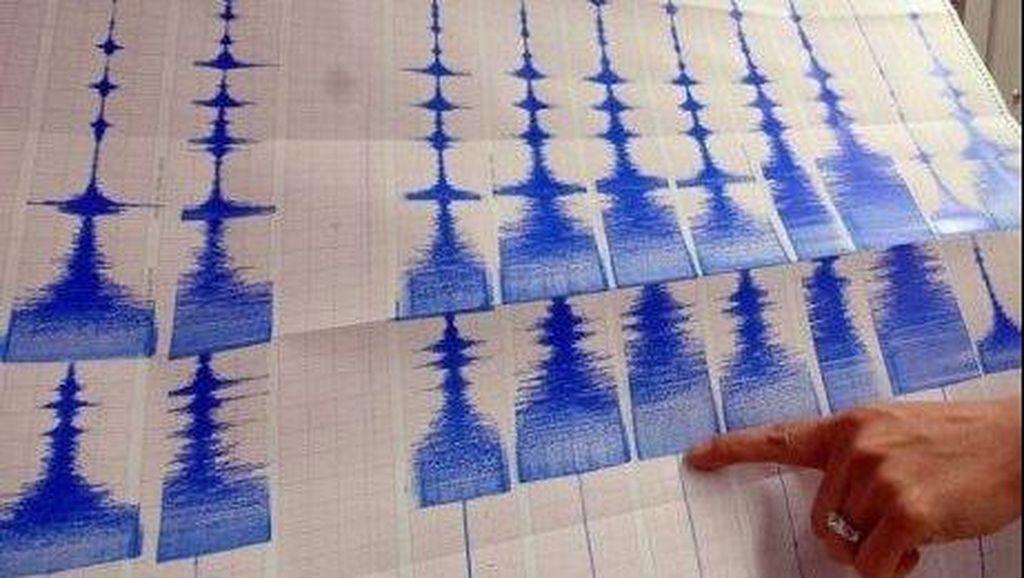 Gempa 5,3 SR Guncang Perairan Nias Utara