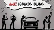 Terlilit Utang, Bekas Driver Ojol Rampok Sopir Taksi Online