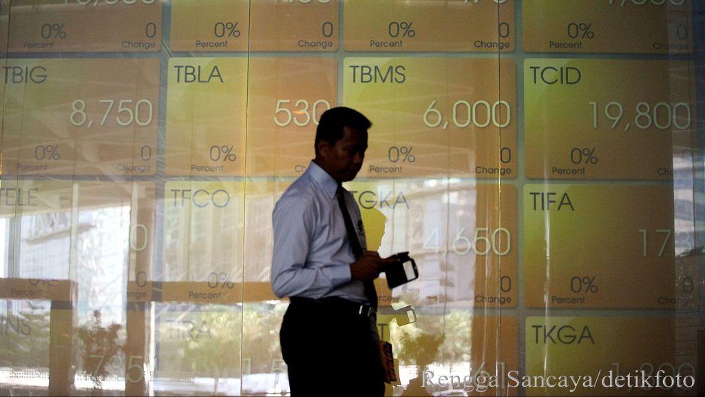 Transaksi tembus Rp 8,4 Triliun, IHSG Naik ke 5.857