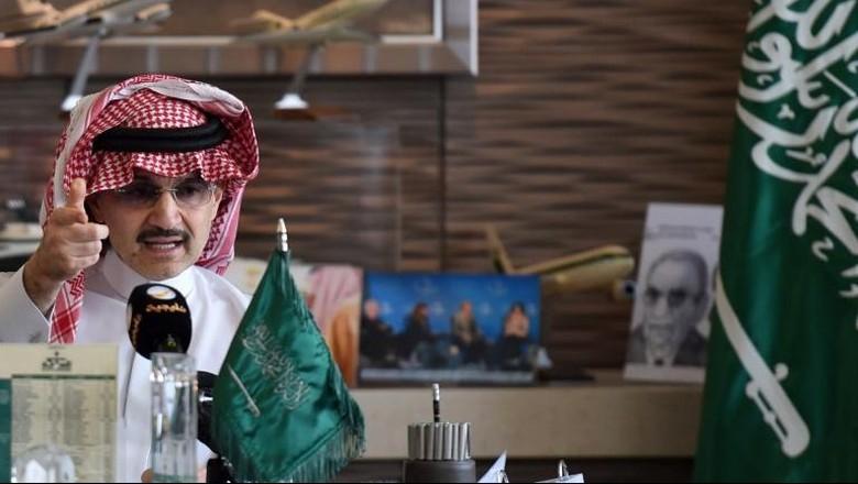 Ditangkap Karena Dugaan Korupsi, Pangeran Alwaleed Terkaya di Arab