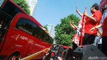 Lepas Pemudik, CT: Perusahaan Indonesia Sangat Peduli Budaya Mudik