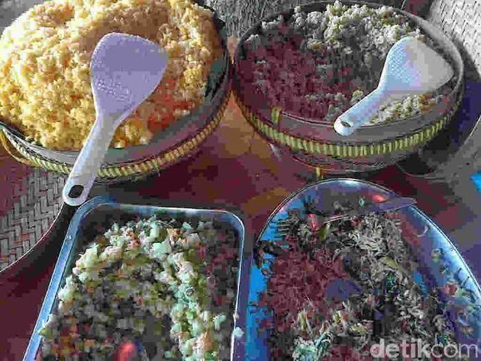Ilustrasi makanan tradisional (Foto: Erliana Riady)