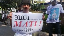Sebanyak 16 LSM menyerukan akses obat murah untuk hepatitis. Penyakit yang kerap berujung pada sirosis dan kanker hati ini membunuh 1,5 juta orang pertahun.