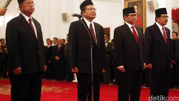 Menko Baru yang Dipilih Jokowi Dinilai Punya Rekam Jejak dan Berwibawa