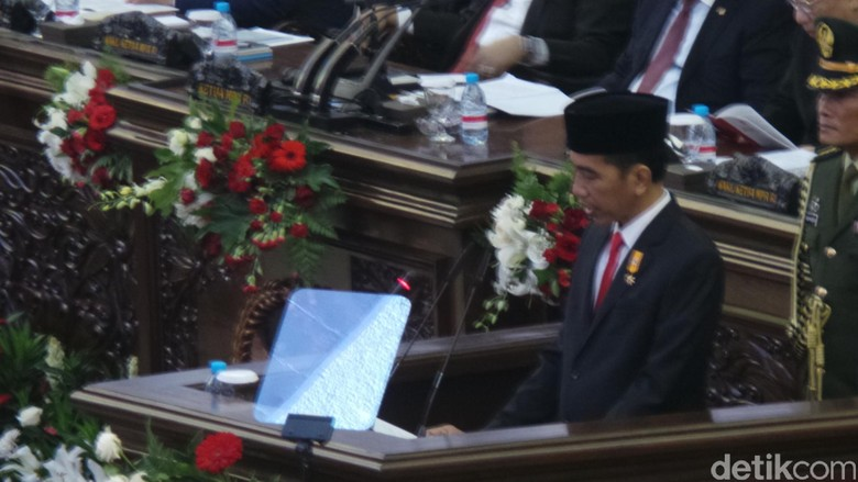 Ini Pidato Lengkap Presiden Jokowi di Sidang Tahunan MPR