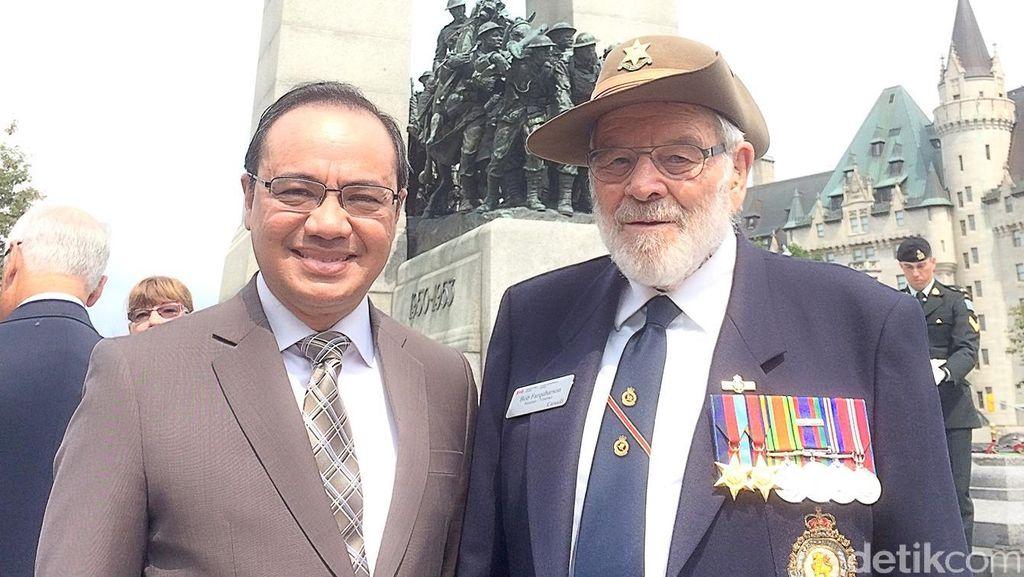 Kisah Veteran asal Kanada saat Perang Melawan Jepang di Pasifik
