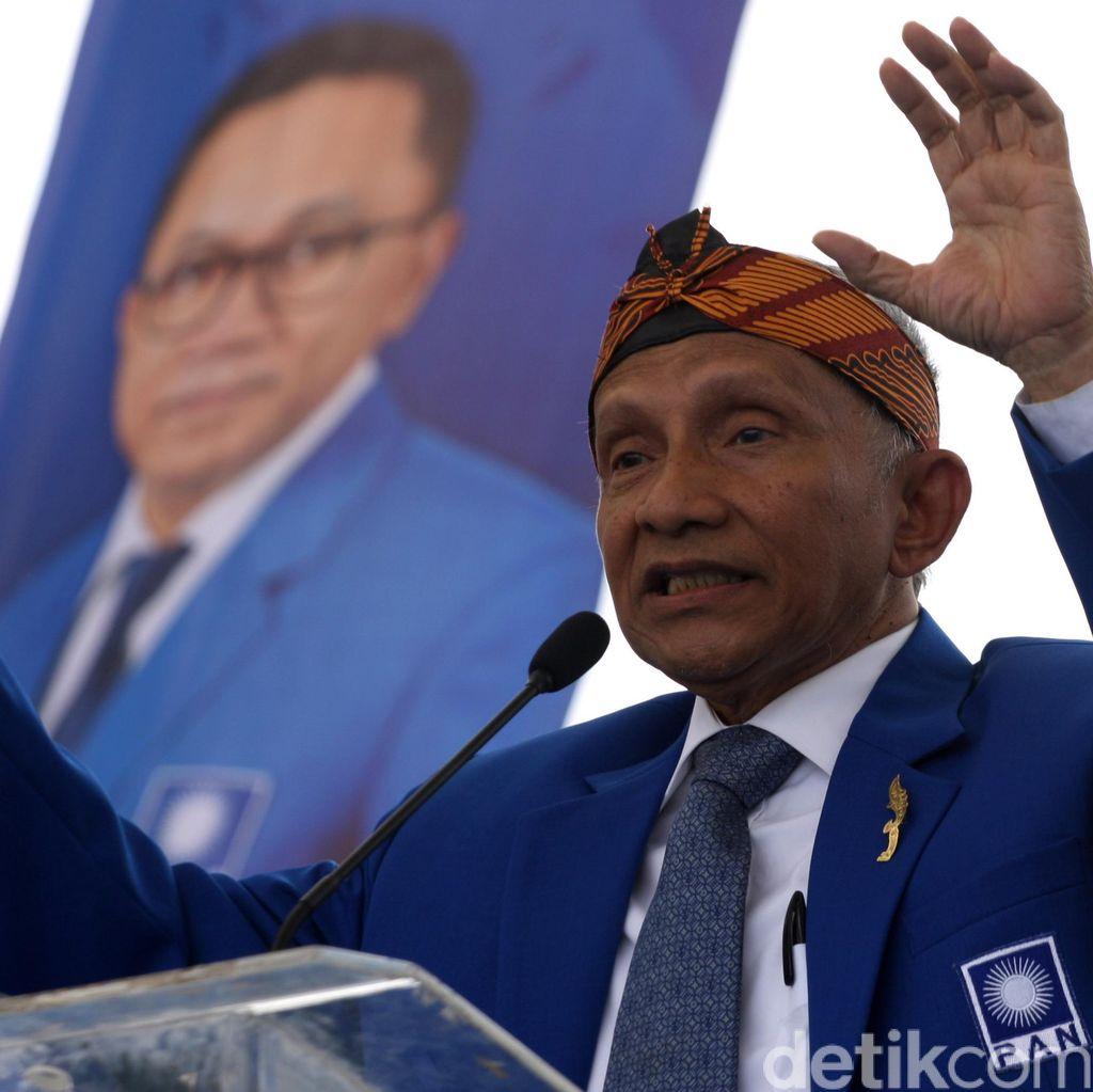Amien Rais Bawa PAN Dukung Prabowo, Goodbye Jokowi