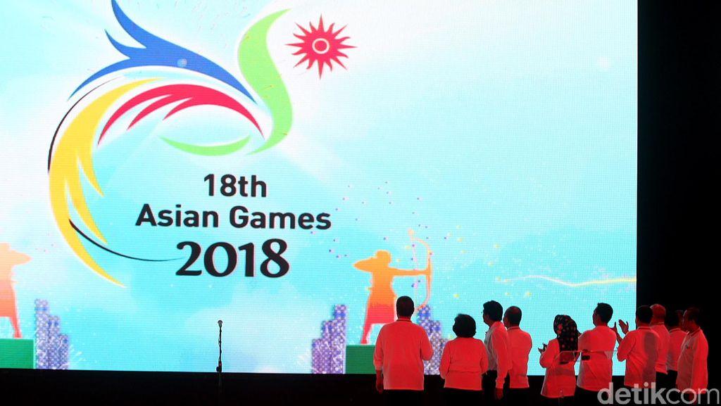 Sandiaga Dampingi Jokowi Resmikan Venue Asian Games 2018 di GBK