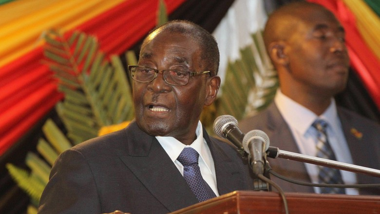 Presiden Zimbabwe Pecat Wapres karena Tidak Loyal
