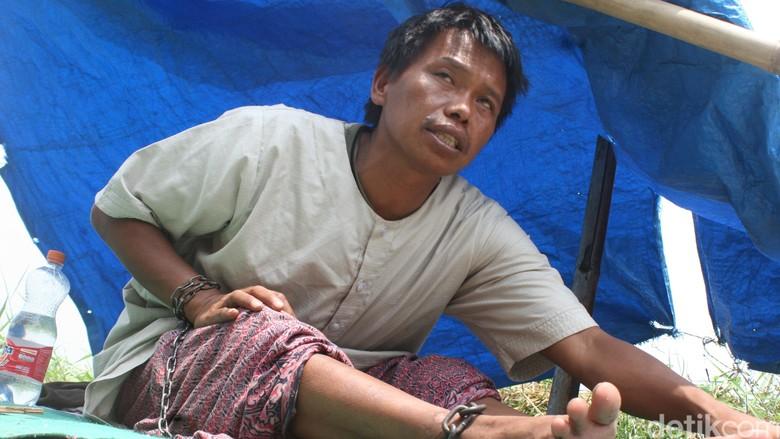 Mantan Bos Distributor Rokok di Sukabumi Ini 3 Bulan Hidup Terpasung