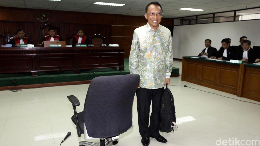 Saksi Sebut Biaya Ultah Keluarga Ditanggung Kementerian, Jero Wacik Menepis