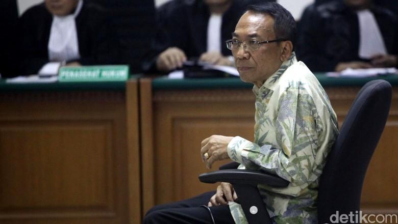Antisipasi Hukuman Uang Pengganti, Jero Wacik Jaminkan Tanah dan Rekening