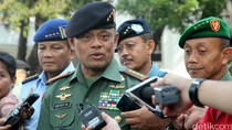 Panglima Gatot Minta Maaf ke Jokowi yang Jalan Kaki ke HUT TNI