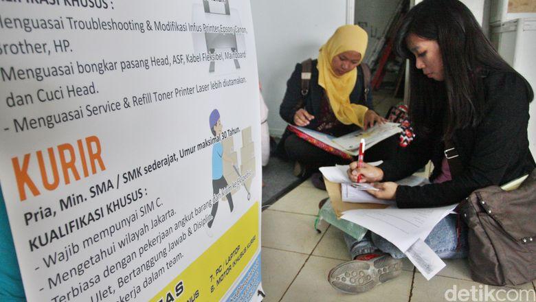 Pengangguran RI 7 Juta Orang, Paling Banyak Lulusan SMK