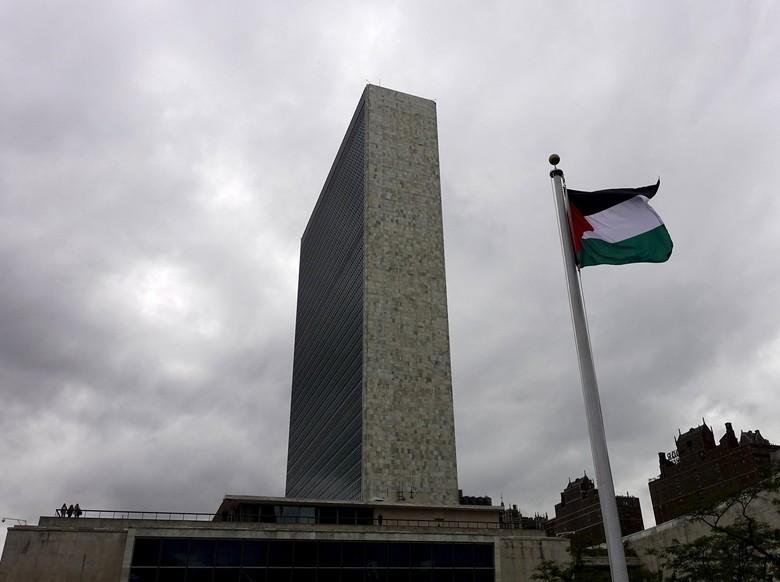 Momen Haru Berkibarnya Bendera Palestina di PBB