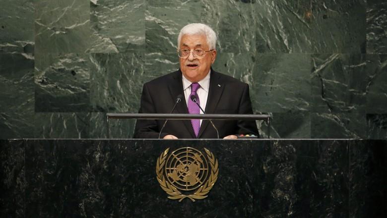 Pidato di PBB, Abbas Sebut Israel Hancurkan Upaya Perdamaian