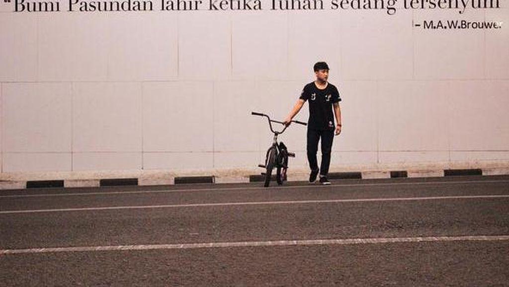 Duka Ibunda Melepas Taufan BMX, Anak Tunggal Penopang Keluarga