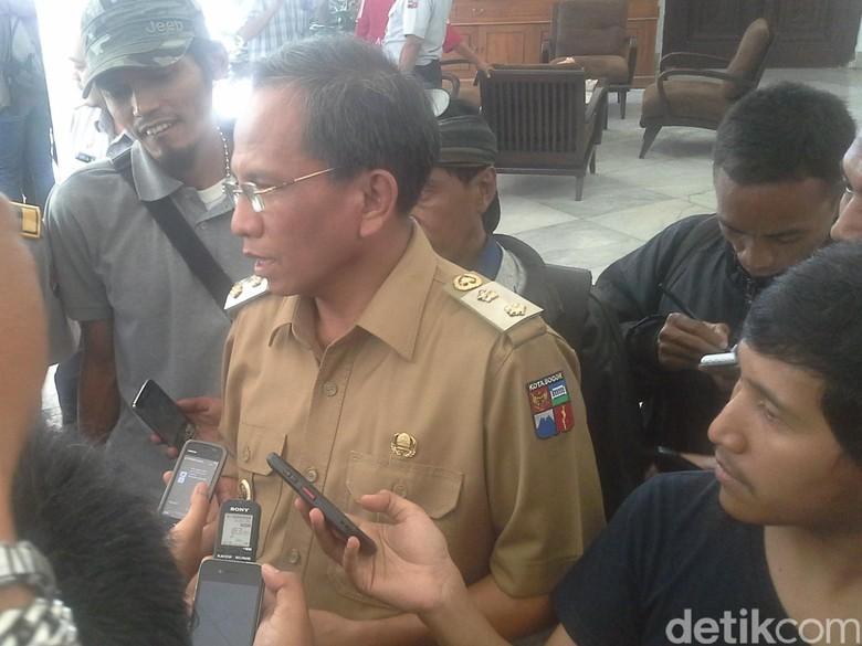 Mediasi Selesai, Demo Para Sopir Angkot di Balai Kota Bogor Bubar