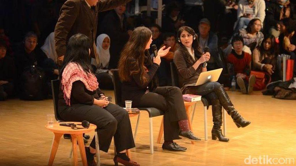 Diskusi Paling Ramai dan Hangat di Paviliun Indonesia