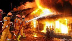 Teko Pemanas Lupa Dicabut, Anjungan Sumut di TMII Terbakar