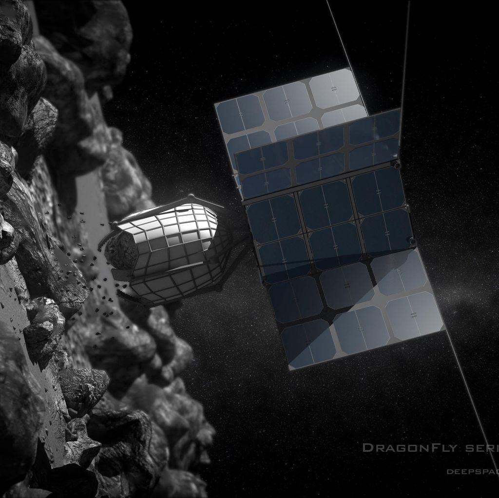 Berburu Tambang Emas Asteroid di Luar Angkasa
