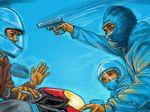 Polisi Tembak Mati Begal di Palembang