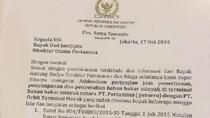 Diterima dan Ditindaklanjuti Pertamina, Benarkah Katebelece Novanto Palsu?