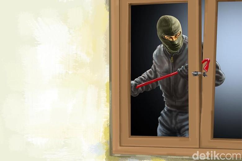 Pencuri Satroni Rumah Kontrakan WN Italia di Garut