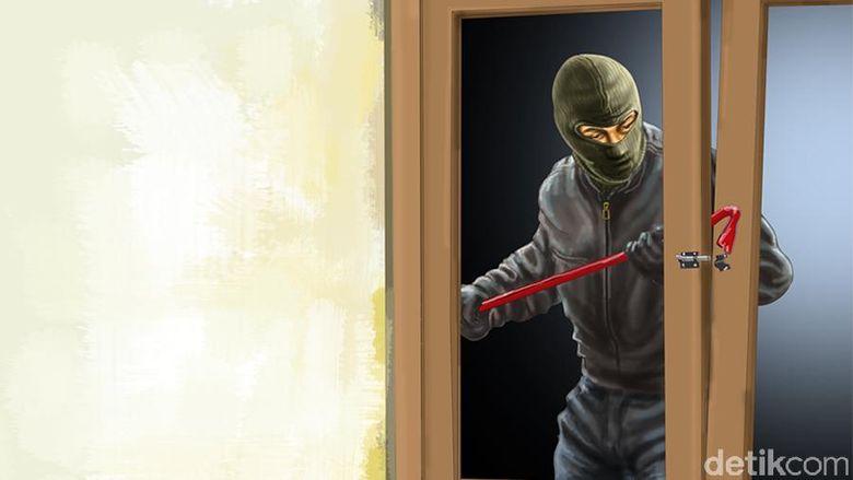 Pencuri Bobol Rumah Warga Tangerang Saat Natal, Polisi Buru Pelaku