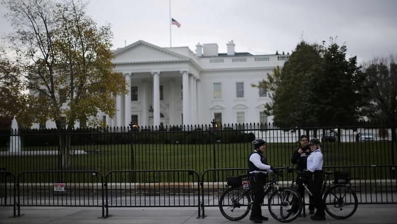 Mengaku Bawa Bom di Dekat Gedung Putih, Pria 29 Tahun Ditangkap