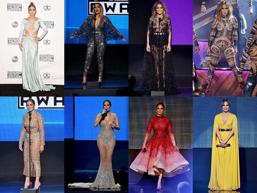 Jennifer Lopez hingga Selena Gomez, Deretan Artis Seksi di AMA 2015