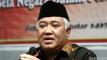 Ditunjuk Jadi Utusan Khusus Jokowi, Din: Saya Terima dengan Bismillah