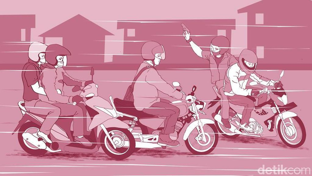 Penjelasan Polisi soal Ramai Kabar Begal di Setiabudi